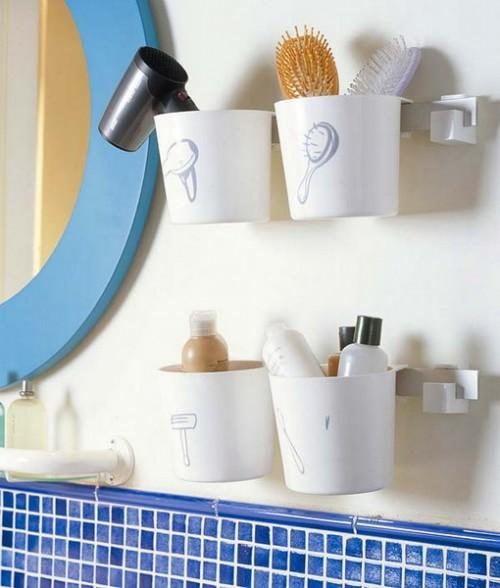 Принадлежности для ванной комнаты своими руками
